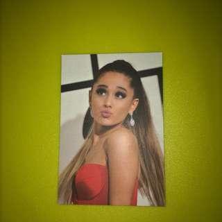 Ariana Grande Photocard