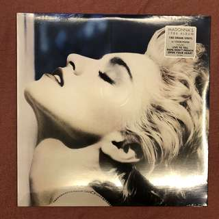 "NEW LP: Madonna ""True Blue"" (US)"
