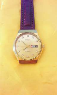 Raya Offer-Pagol Gold Plated Automatic Watch