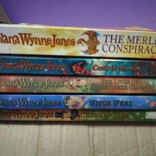 Diana Wynne Jones Magical Series Novels
