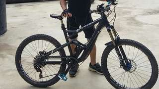 Cannondale Jekyll CAAD - size small 26er
