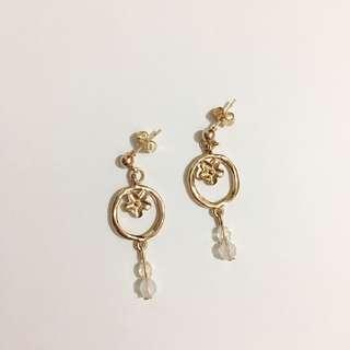 Handmade earrings圈圈花耳環(包郵)