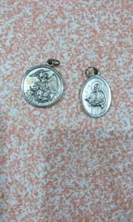 St Michael and St Jude Pendants