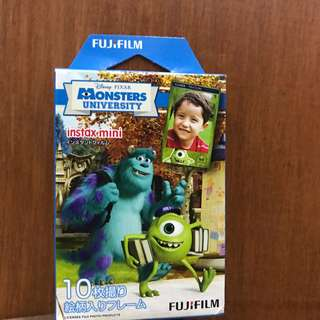 Instax mini refill MONSTER UNIVERSITY