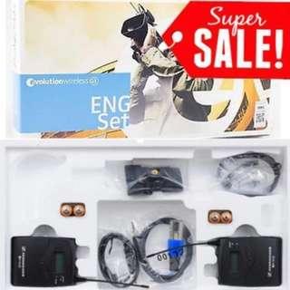 Sennheiser ew112 G3 wireless mic kit 8