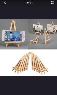 Mini Artist Wooden Easel Artwork Display Holder