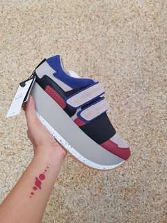 Zara Multicoloured platform sneakers