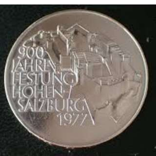 900th Anniversary of Hohensalzburg Fortress Silver Coin