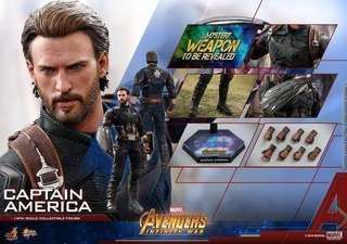 Hottoys Captain America 美國隊長VIP 首日單 13/4