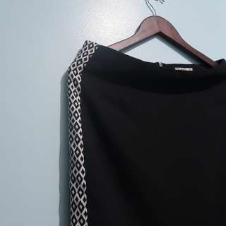 Blanc Noir XL Skirt