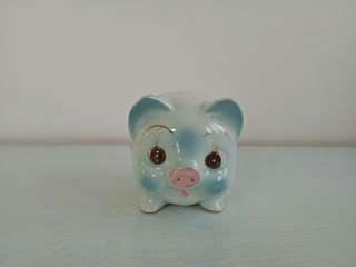 Retro Ceramic 🐷 Coin Bank Perfect Condition