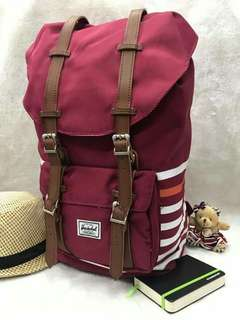 Herschel Back pack 100% authentic quality