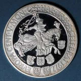 500th Anniversary of the Hall Mint Silver Coin