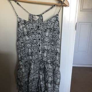 Poppy and co playsuit
