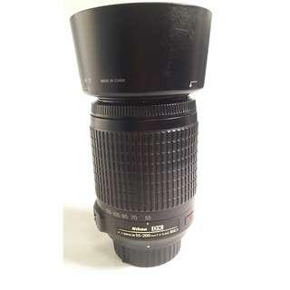Nikon AF-S DX 55-200mm f/4-5.6G IF-ED VR  (NL033)