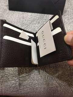 GUCCI money clip Wallet
