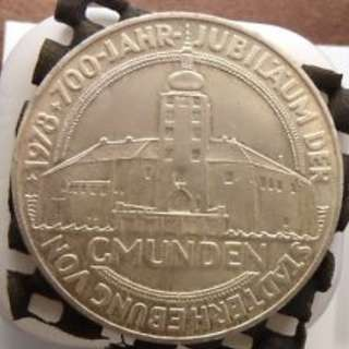 700th Anniversary of Gmunden Silver Coin