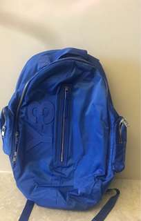 Y3 Blue Backpack, authentic