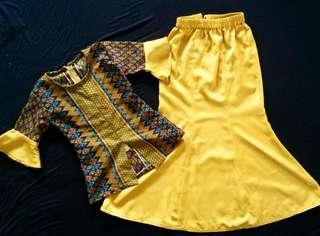 Baju kebaya moden kanak-kanak