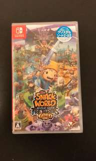 全新 Switch Snack World Trejarers GOLD 零食物語:黃金版 日文