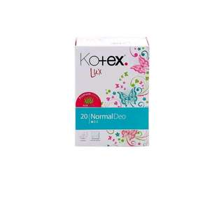 KOTEX Lux Normal Deo  pantyliners isi 20