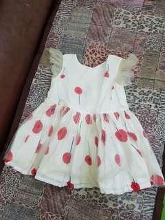 Peppermint baby vintage dress