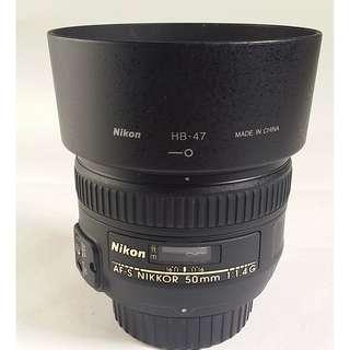Nikon AF-S NIKKOR 50mm f/1.4G (NL035)