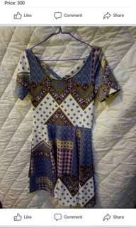 Criscross back dress
