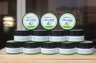 FEEL GOOD Peppermint & Ginger Aromatherapy Balm