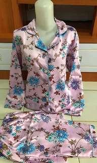 pajamas set lengan panjang celana panjang
