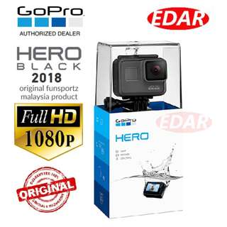 GOPRO HERO V2018 ACTION CAMERA ««ORIGINAL & OFFICIAL FUNSPORTZ»»
