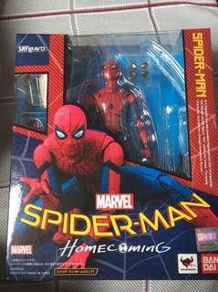 SHF S.H.Figuarts marvel home coming Spiderman 蜘蛛俠 行版