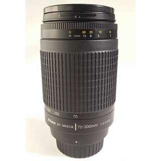 Nikon AF 70-300mm f/4-5.6G (NL038)