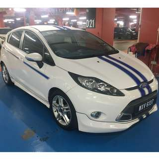 Ford Fiesta Special Edition XRT Sapphire