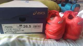 asics football shoes