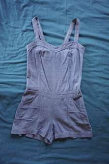Pre-loved Kamiseta Chambray Romper