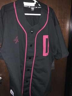 DGK baseball jersey black
