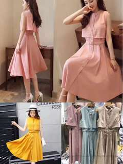 Dress long fashion