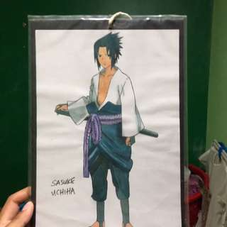Naruto and marvel artwork