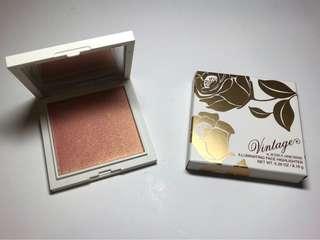 Vintage Illuminating Face Highlighter Rose Gold