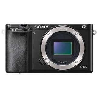 Sony Alpha A6000 Body Only  Bisa Kredit Tanpa Cc