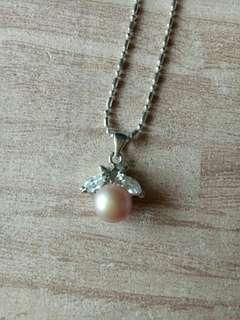 🚚 天然粉紫珍珠