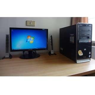 HP文書主機+Sunsang19吋螢幕