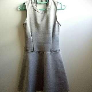 Kitschen Dress-Grey