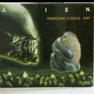 Alien Amazing Ceramic Cookie Jar