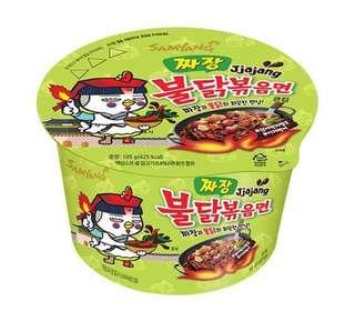 韓國 三養辣雞炸醬杯麵