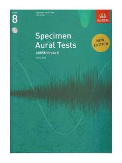 ABRSM grade 8 aural book with disc
