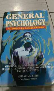 General Psychology: A Textbook for College Students