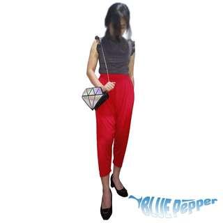 HAREM PANTS Cropped Loose Comfy /Jasmin Pants (stretchable)