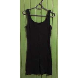 Simple Black Minidress